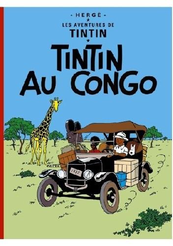 Okładka książki Tintin au Congo