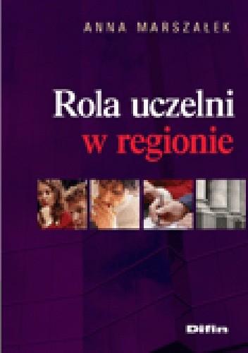 Okładka książki Rola uczelni w regionie