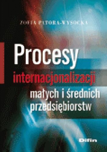 Okładka książki Procesy internacjonalizacji małych i średnich przedsiębiorstw