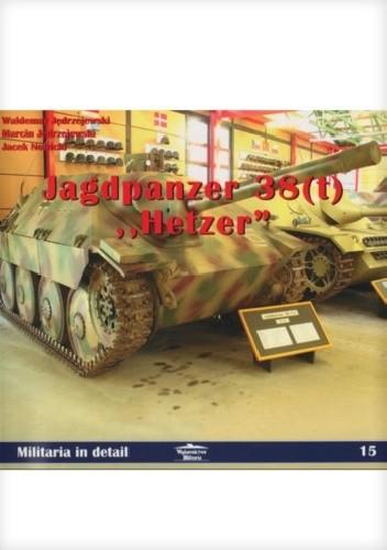 """Okładka książki Jagdpanzer 38 (t) """"Hetzer"""""""