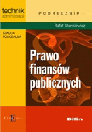 Okładka książki Prawo finansów publicznych