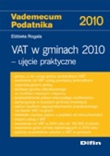 Okładka książki VAT w gminach 2010. Ujęcie praktyczne