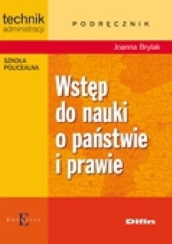 Okładka książki Wstęp do nauki o państwie i prawie