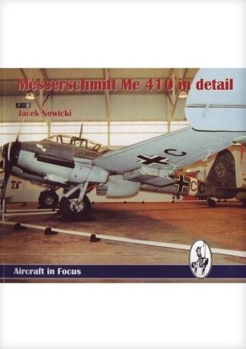 Okładka książki Messerschmitt Me 410 in detail