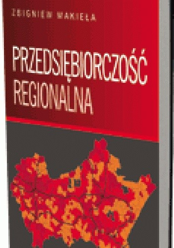 Okładka książki Przedsiębiorczość regionalna