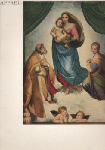 Okładka książki Raffael. Farbige Gemäldewiedergaben