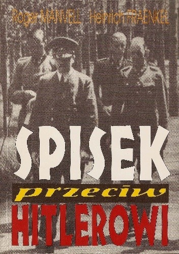 Okładka książki Spisek przeciw Hitlerowi