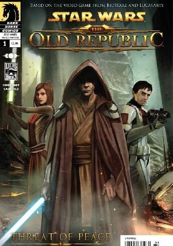 Okładka książki Star Wars: The Old Republic #1