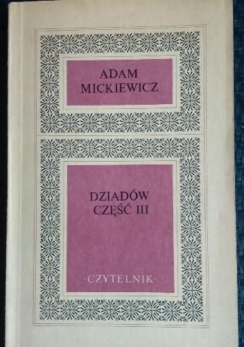 Okładka książki Dziadów część III