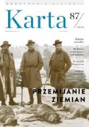 Okładka książki Karta. Kwartalnik historyczny nr 87