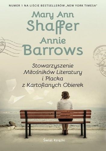 Okładka książki Stowarzyszenie Miłośników Literatury i Placka z Kartoflanych Obierek