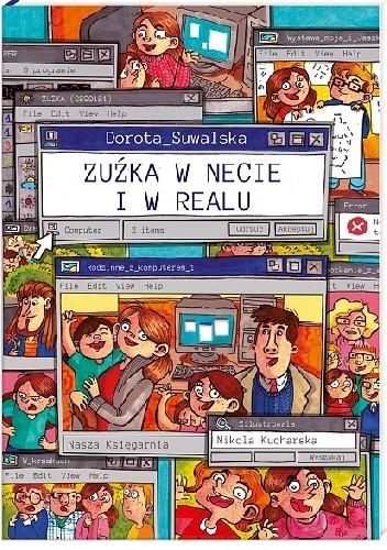 Okładka książki Zuźka w necie i w realu