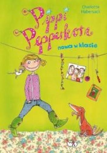 Okładka książki Pippi Pepperkorn. Nowa w klasie