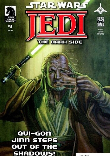 Okładka książki Star Wars: Jedi - The Dark Side #3