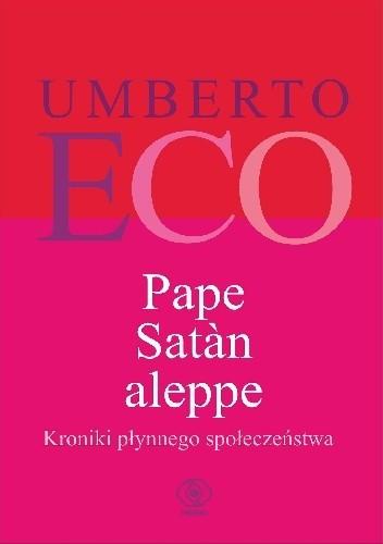 Okładka książki Pape Satàn aleppe. Kroniki płynnego społeczeństwa