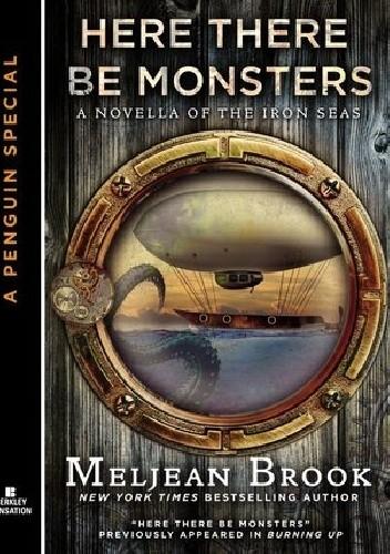 Okładka książki Here There Be Monsters