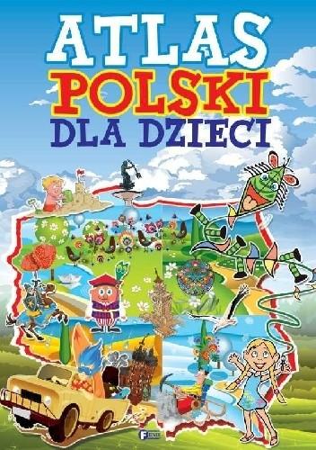 Okładka książki Atlas Polski dla dzieci
