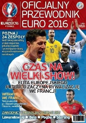 Okładka książki Oficjalny przewodnik Euro 2016
