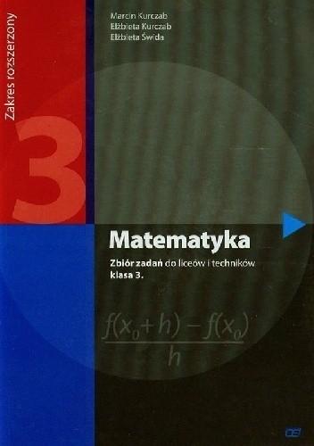 Okładka książki Matematyka 3. Zbiór zadań. Zakres rozszerzony