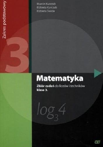 Okładka książki Matematyka 3. Zbiór zadań. Zakres podstawowy