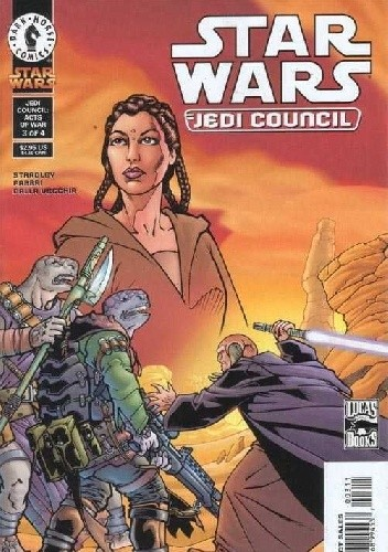 Okładka książki Star Wars: Jedi Council - Acts of War #3