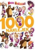 Masza i Niedźwiedź. 1000 naklejek