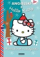 Mozaikowe naklejanki. Angielski z Hello Kitty. Niebieskie