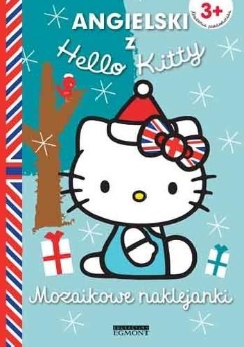 Okładka książki Mozaikowe naklejanki. Angielski z Hello Kitty. Niebieskie