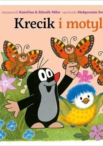 Okładka książki Krecik i motyle