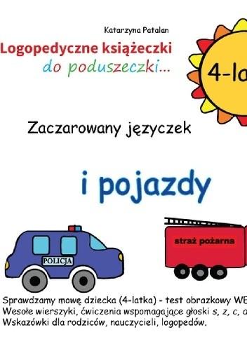 Okładka książki Zaczarowany języczek i pojazdy