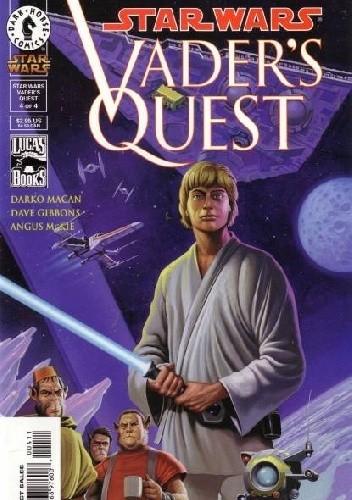 Okładka książki Star Wars: Vader's Quest #4