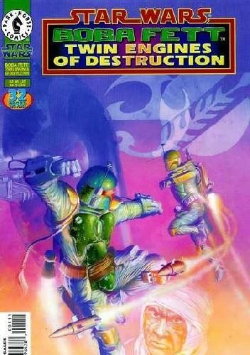 Okładka książki Star Wars: Boba Fett: Twin Engines of Destruction