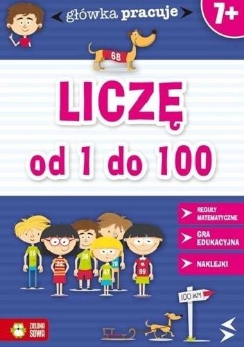 Okładka książki Liczę od 1 do 100