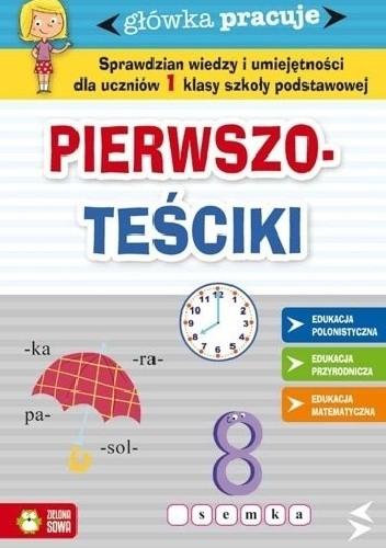 Okładka książki Pierwszo-teściki