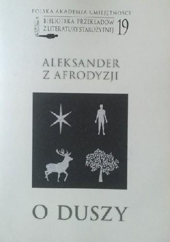 Okładka książki O duszy