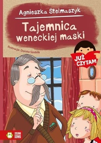 Okładka książki Tajemnica weneckiej maski