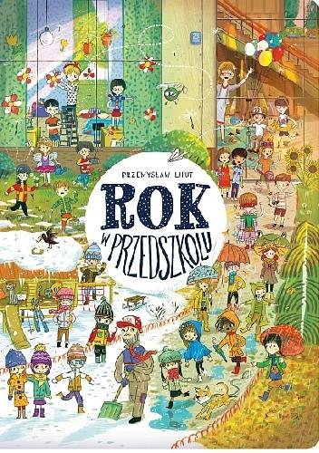 Okładka książki Rok w przedszkolu