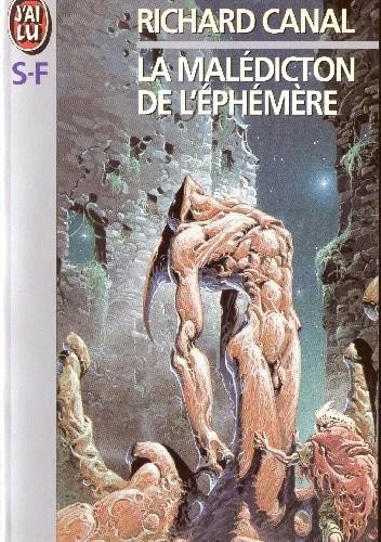 Okładka książki La Malédiction de l'éphémère