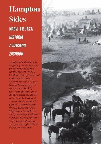 Okładka książki Krew i burza. Historia z Dzikiego Zachodu