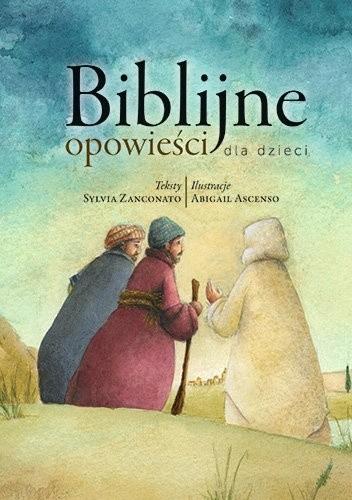 Okładka książki Biblijne opowieści dla dzieci