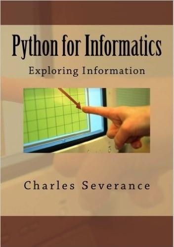 Okładka książki Python for Informatics: Exploring Information