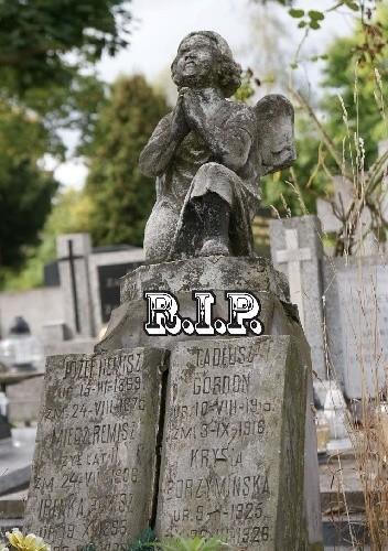Okładka książki R.I.P. Almanach poświęcony pamięci zmarłych