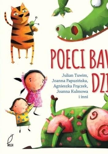 Okładka książki Poeci bawią dzieci
