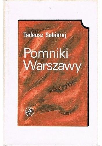 Okładka książki Pomniki Warszawy