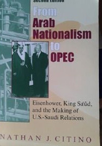 Okładka książki From Arab Nationalism to OPEC