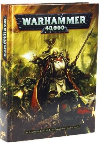 Okładka książki Warhammer 40,000 Rulebook (6th Edition)