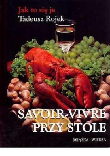 Okładka książki Jak to się je. Savoir-vivre przy stole