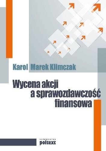 Okładka książki Wycena akcji a sprawozdawczość finansowa