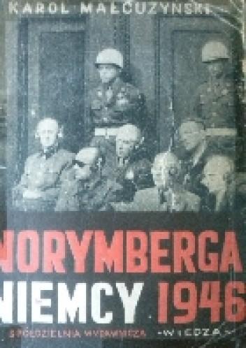 Okładka książki Norymberga Niemcy 1946
