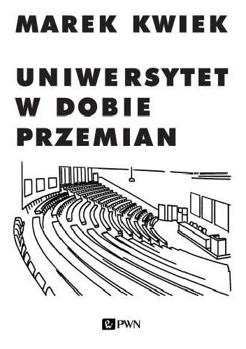 Okładka książki Uniwersytet w dobie przemian